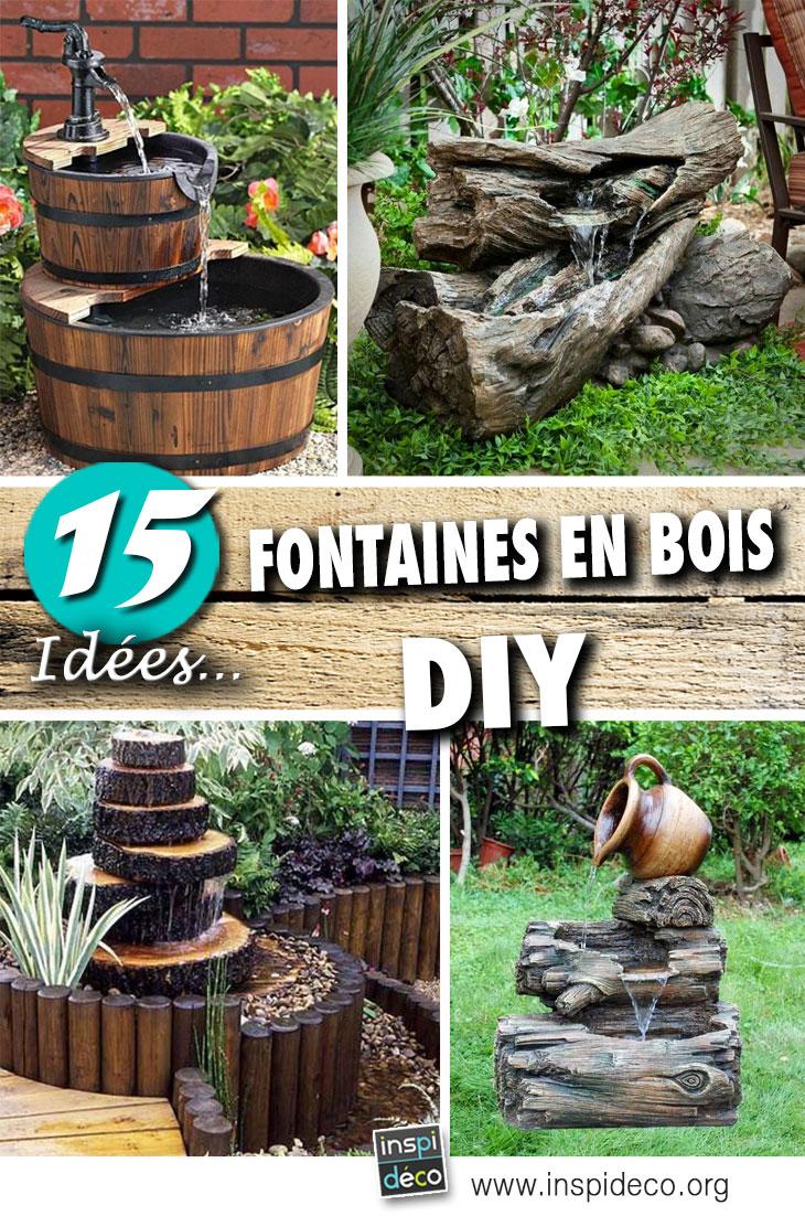 Fontaine en bois: 15 idées pour un décor aquatique dans le ...