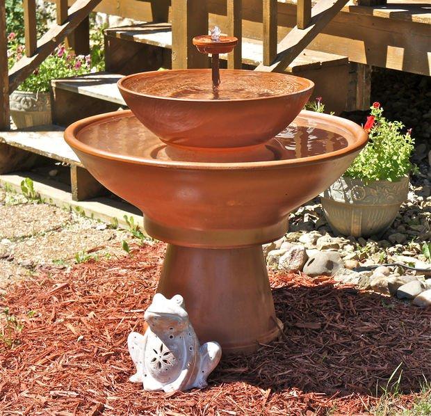 Fontana da giardino fai da te