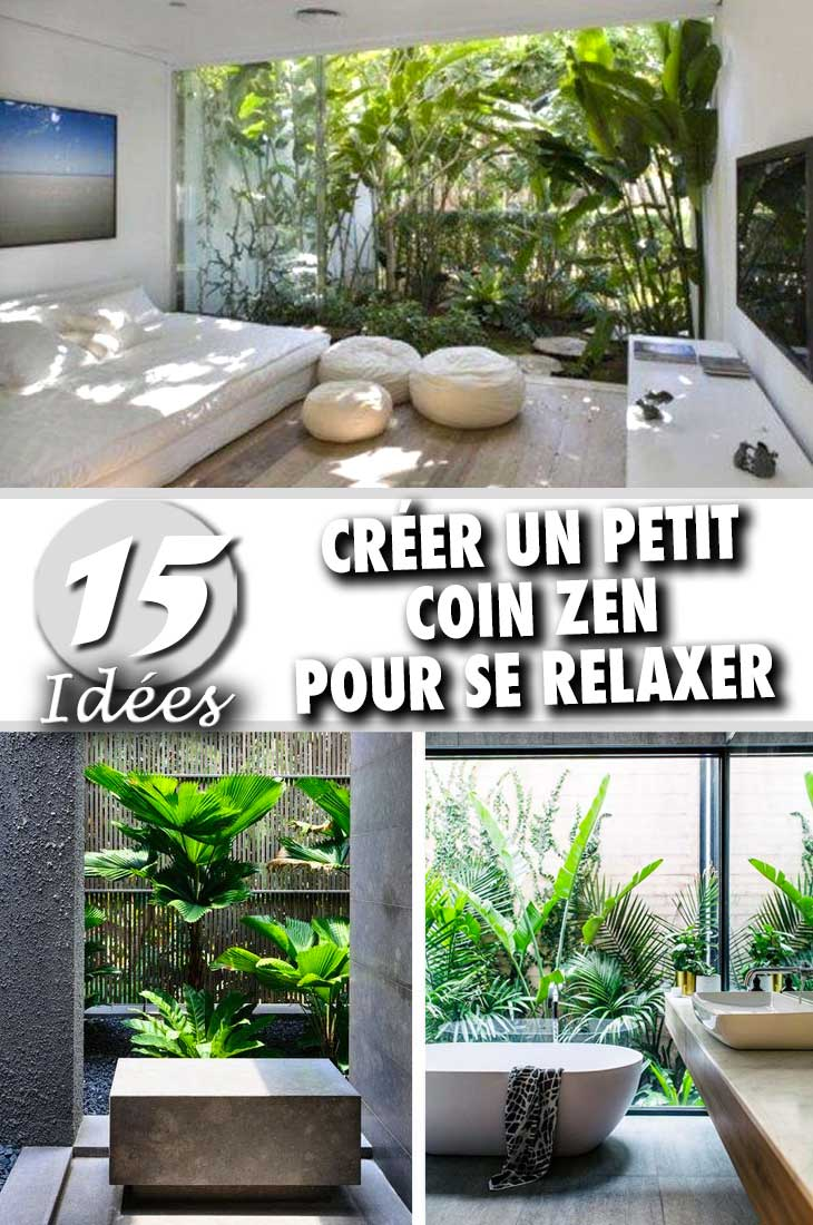 Coin zen interieur great campagne salon mditerranen salon - Jardin japonais interieur maison toulon ...