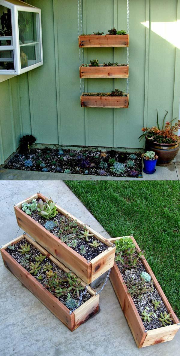 Pot de fleurs extérieur diy