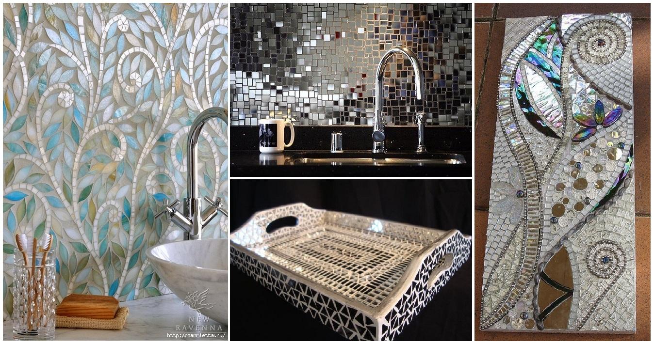 Décorer la salle de bains avec des mosaïques: 15 idées magnifiques!