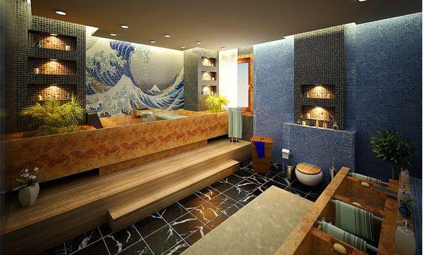 Décorer la salle de bains avec des mosaïques