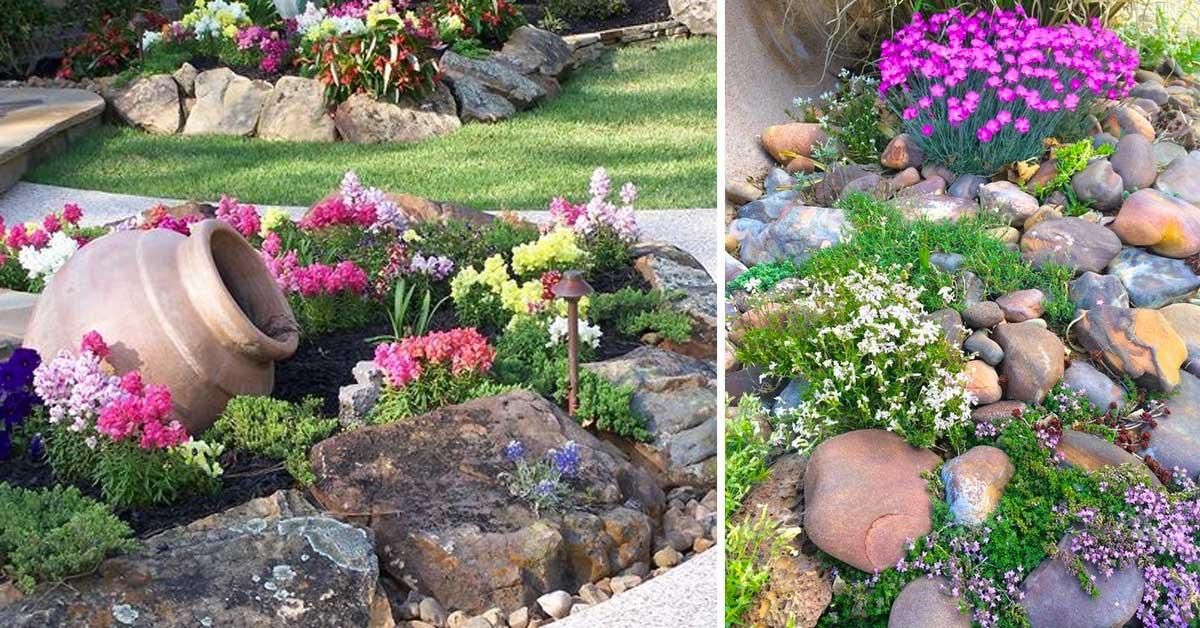 Jardin de rocaille et déco en pierre et roche naturelle! 16 idées ...