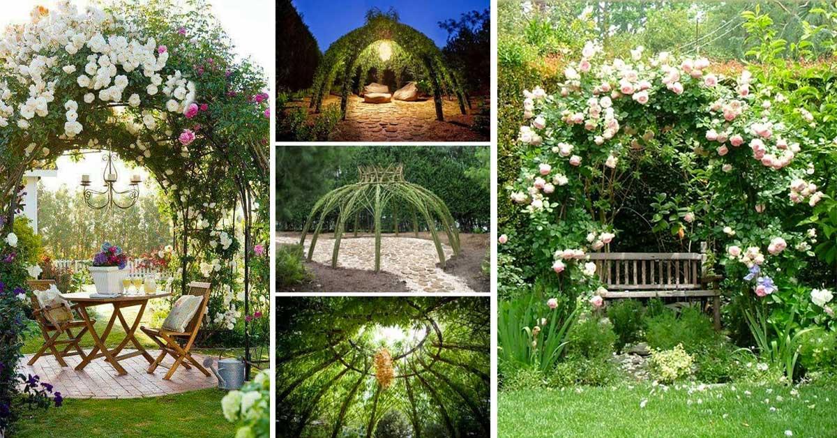 une pergola de r ve fait maison pour faire de l 39 ombre dans votre jardin. Black Bedroom Furniture Sets. Home Design Ideas