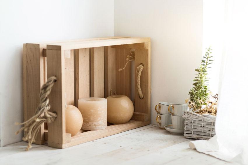 caisses en bois decoration