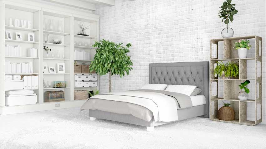 Décorer la chambre à coucher avec des plantes
