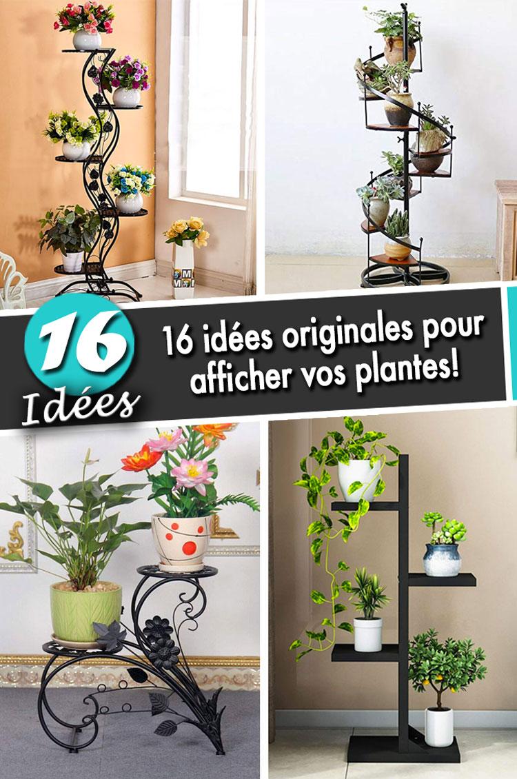Plante D Intérieur Tendance Étagère à plantes: 16 idées originales pour afficher vos