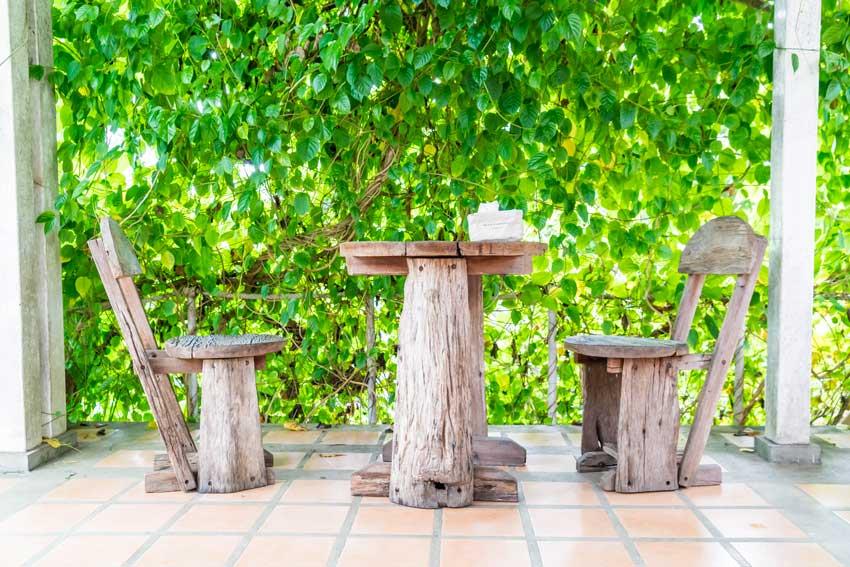 Riciclo legno creativo