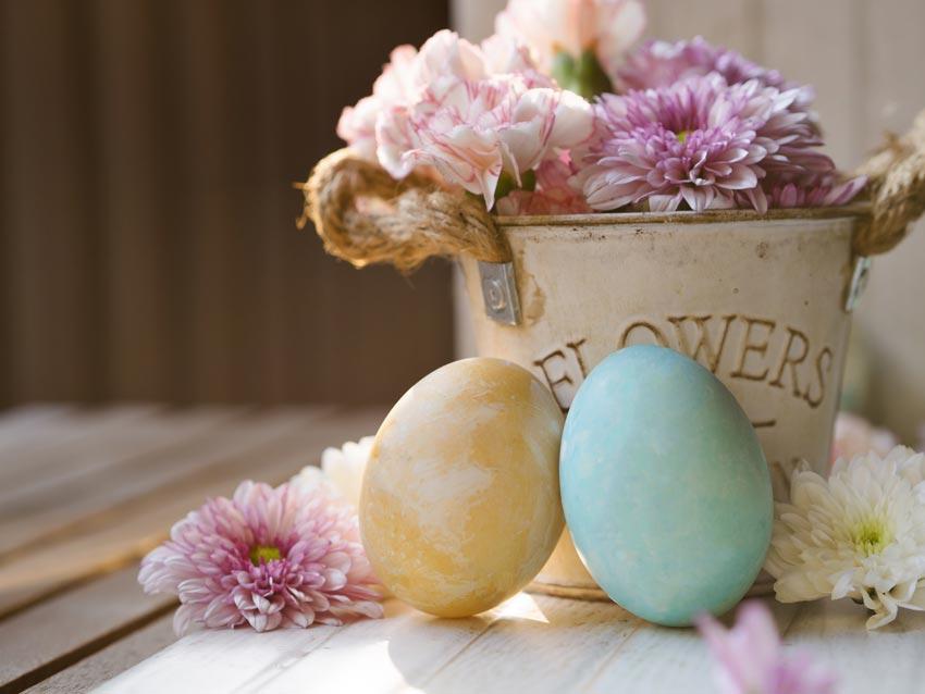 Décorations rustiques pour Pâques