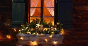 Idées déco Noël pour les fenêtres.