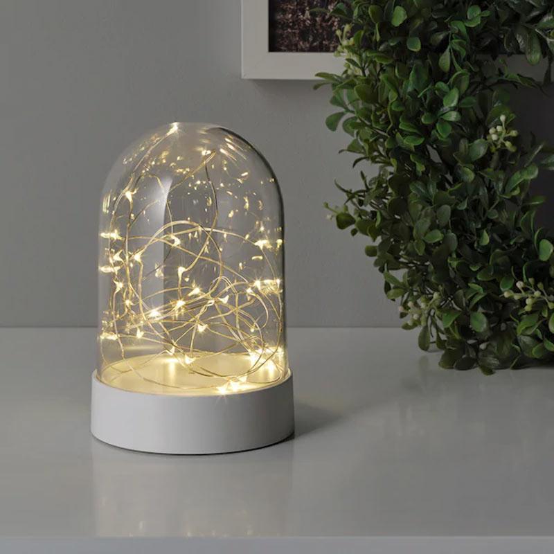 Luminaires de Noël IKEA.