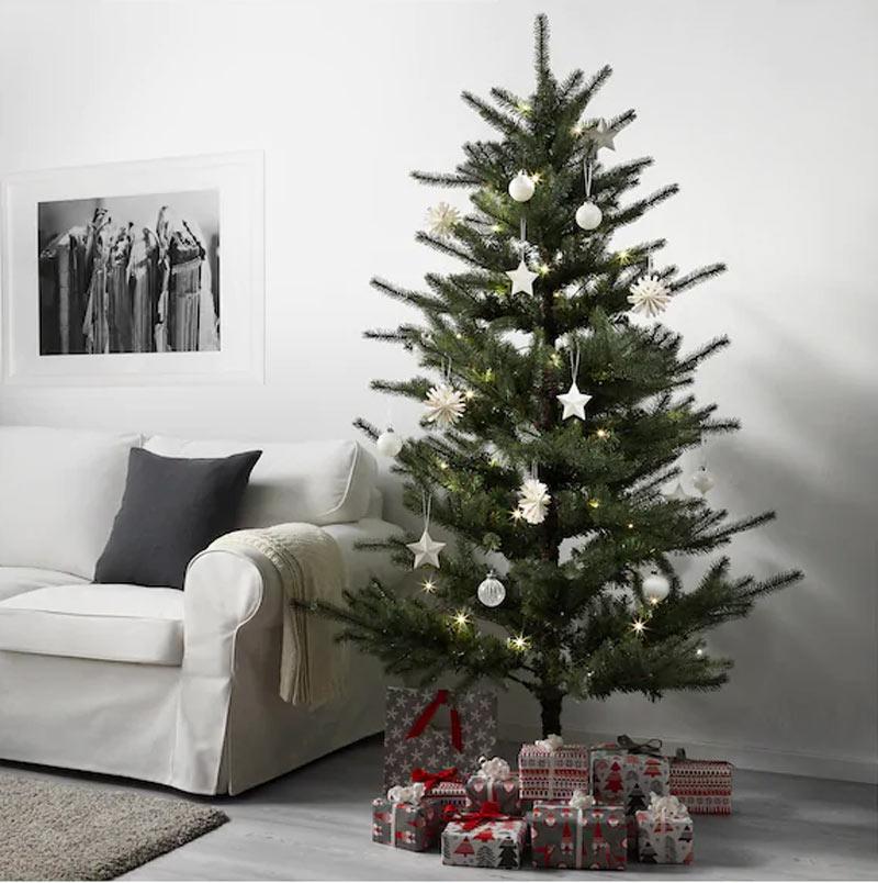 Sapin de Noël IKEA.
