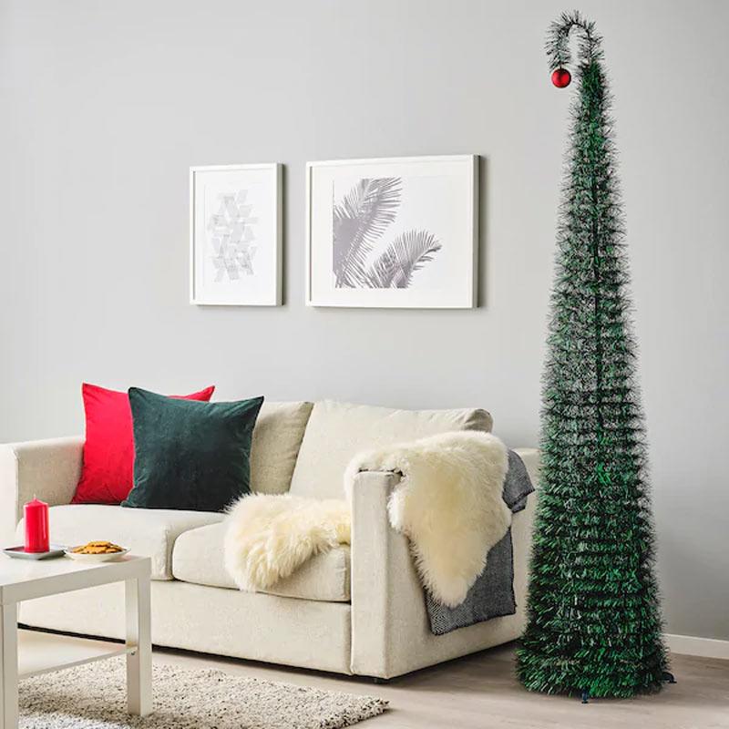 Sapin de Noël IKEA déco.