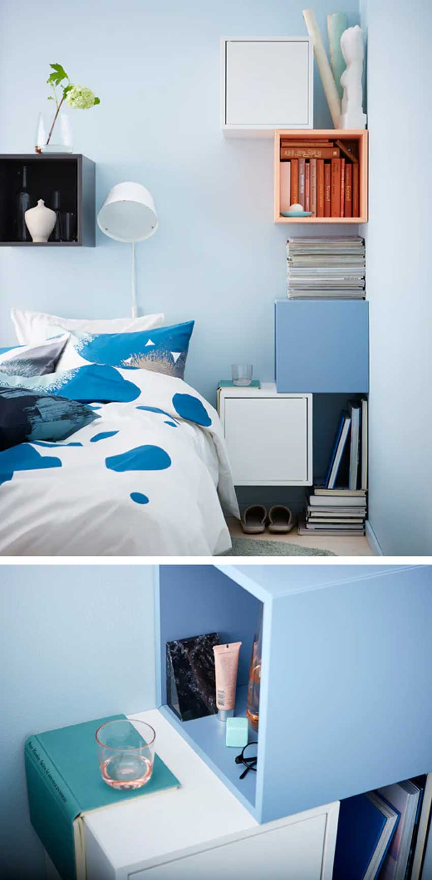 étagères EKET IKEA