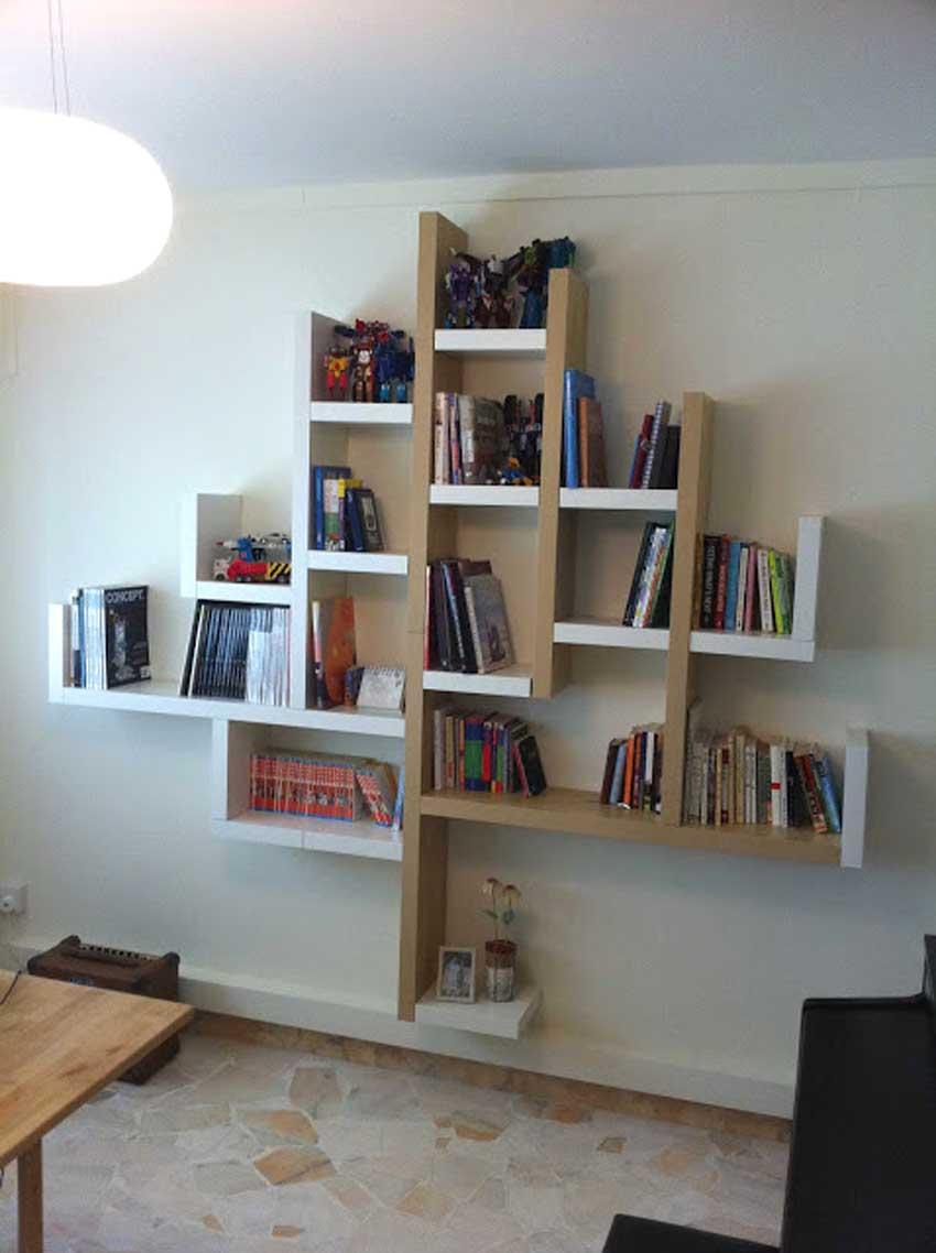 Étagères IKEA Lack bibliothèque originale.