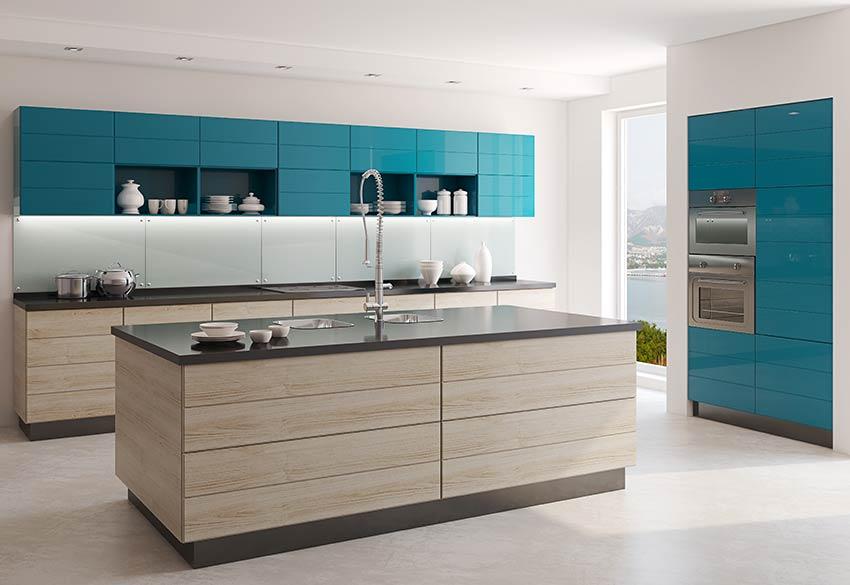 Décoration cuisine avec pantone Bleached Coral 2020.
