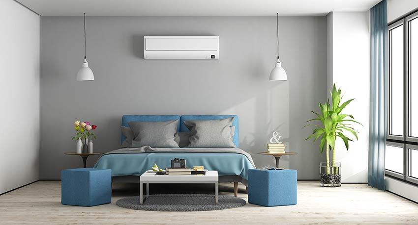 Décoration chambre à coucher pantone Bleached Coral 2020.