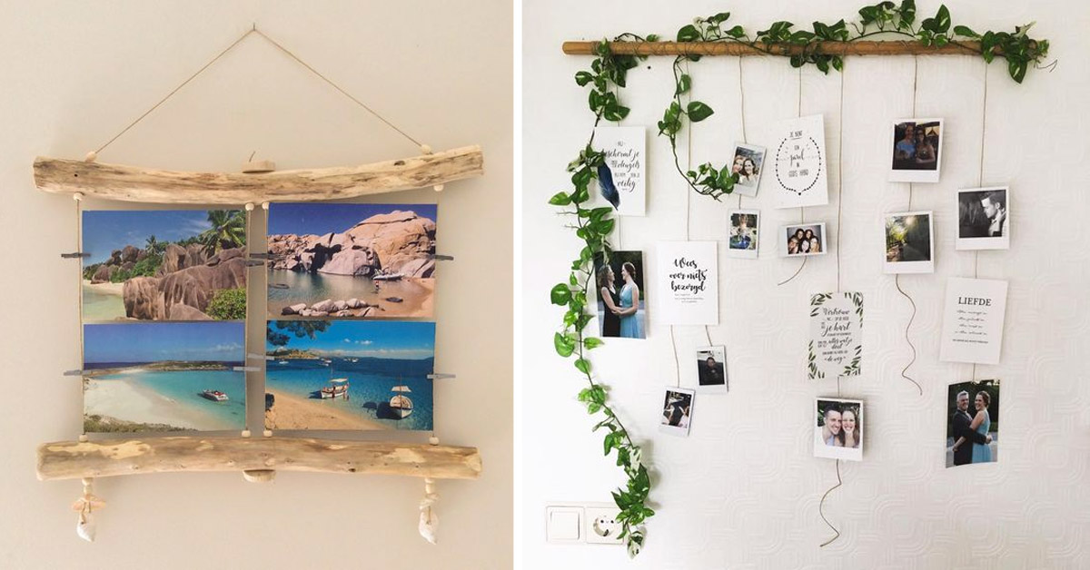 idées déco DIY à accrocher au mur