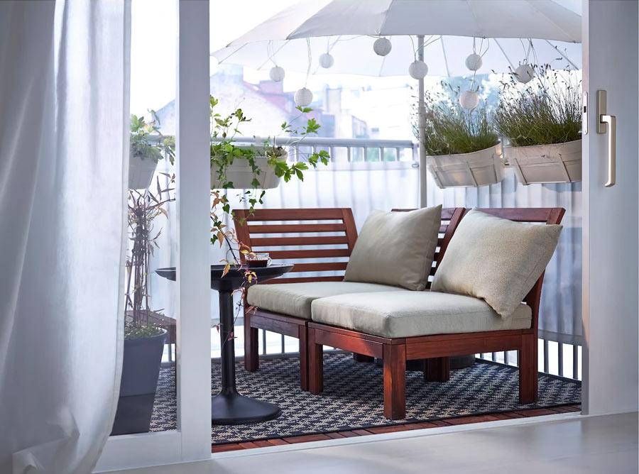 Aménager la terrasse avec IKEA.