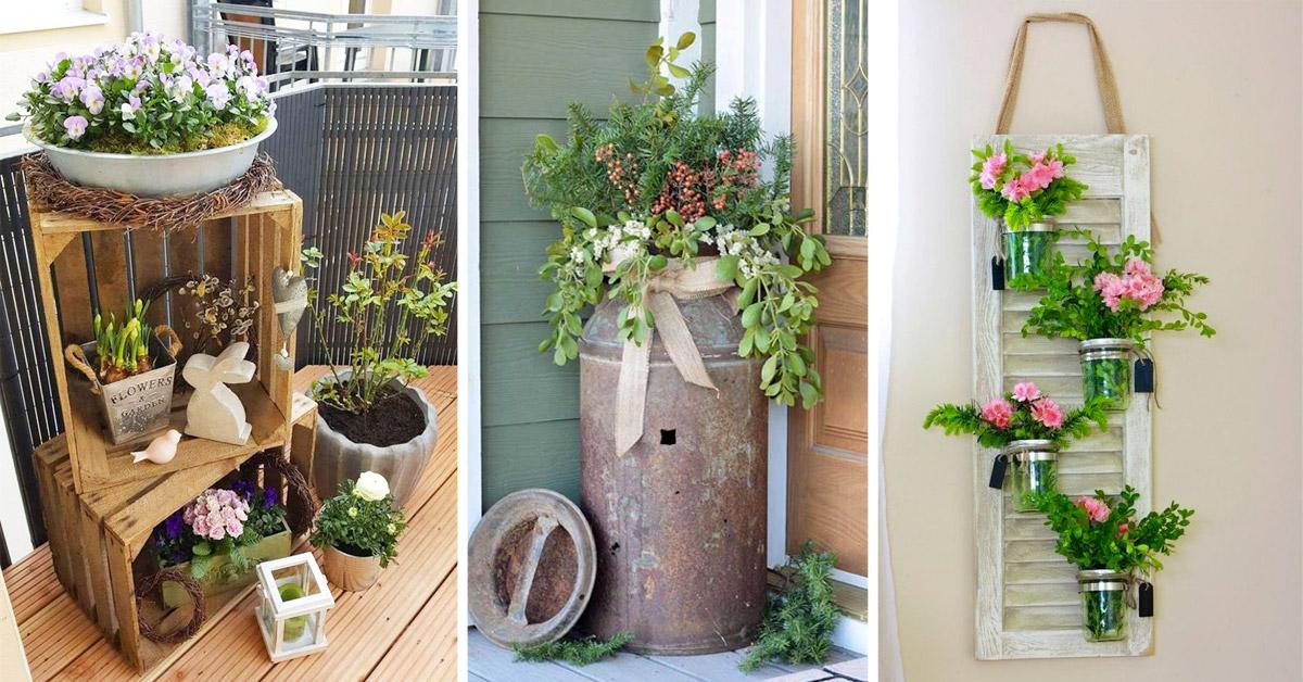 décorations DIY pour le printemps