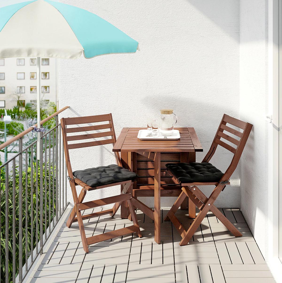 13 Solutions Ikea Pour Amenager Votre Petit Balcon Inspirez Vous