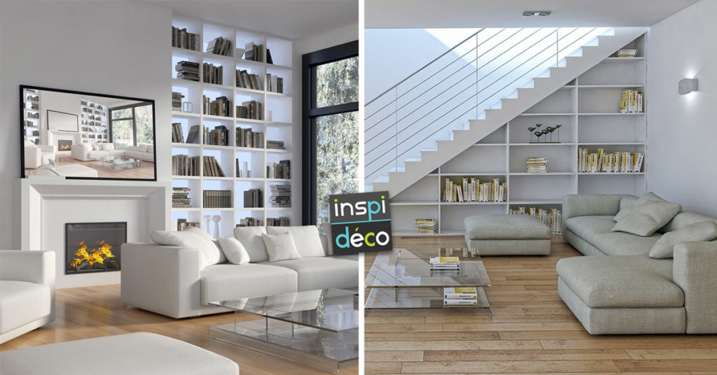 créer une bibliothèque originale dans votre maison
