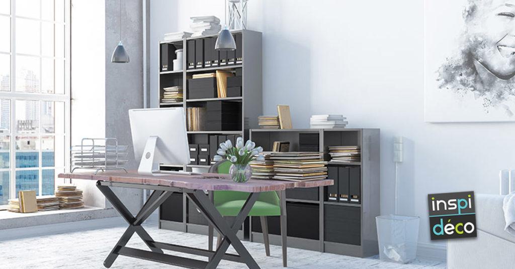 idées pour aménager un bureau moderne à la maison