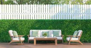 clôtures de jardin pour préserver votre intimité avec style