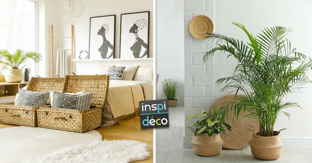 Des objets en osier pour meubler son intérieur