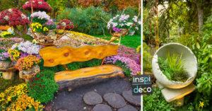 13 idées déco pour un jardin unique et original