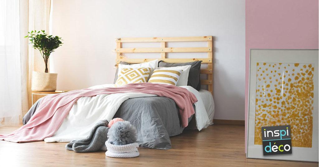 tête de lit DIY avec palettes