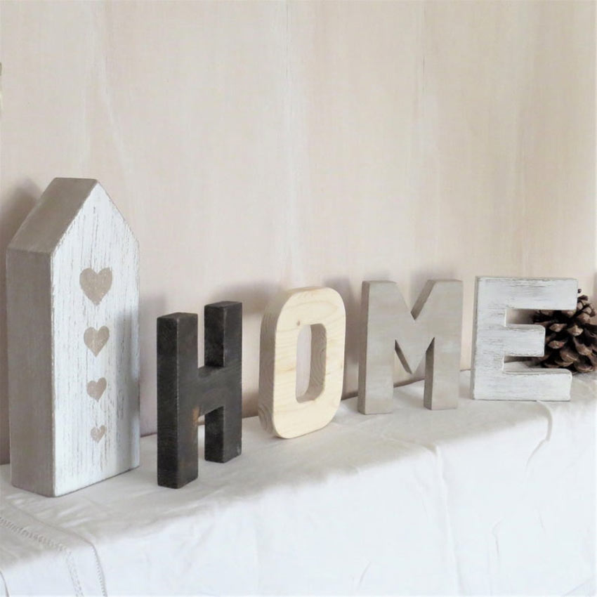 écriture DIY home shabby chic