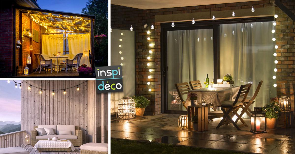 idées originales pour illuminer votre espace extérieur