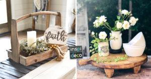 Un beau centre de table DIY pour décorer en été
