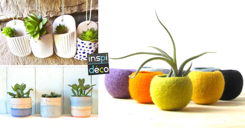 mini plantes pour décorer les petits espaces de la maison