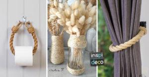 Comment utiliser une corde de manière créative