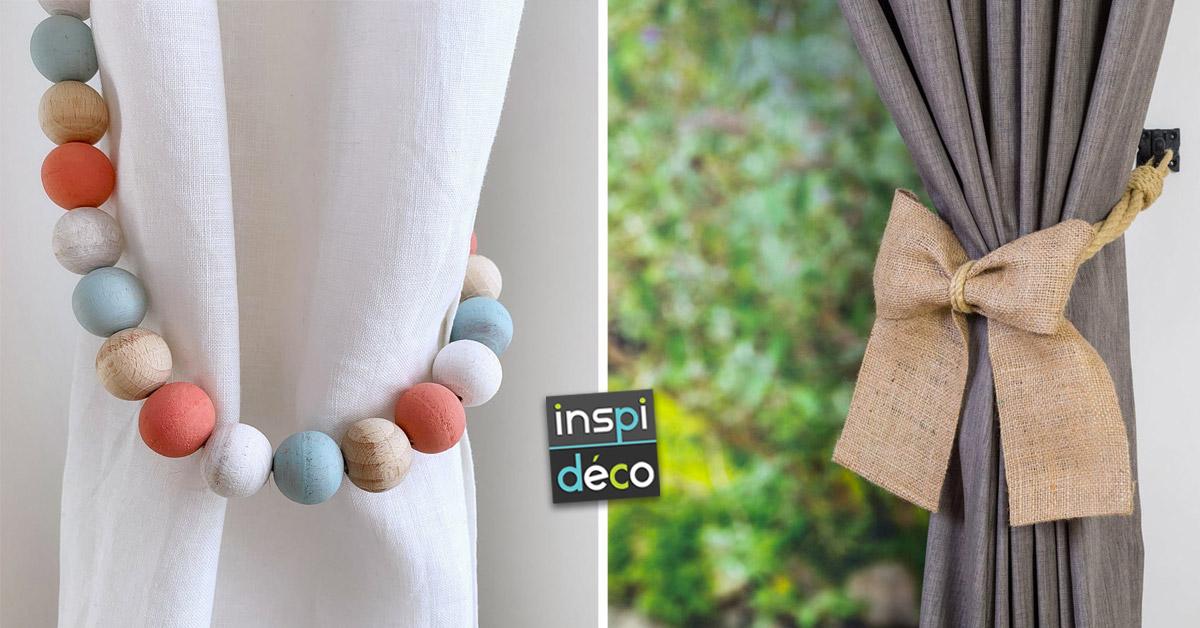 idées pour attacher ses rideaux avec style