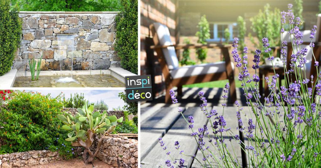 Idées jardin style provençal