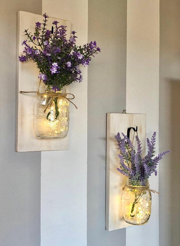 Lanternes DIY avec des bocaux recyclés