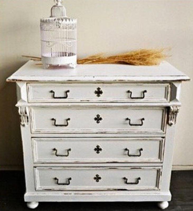 meuble blanc maison de campagne