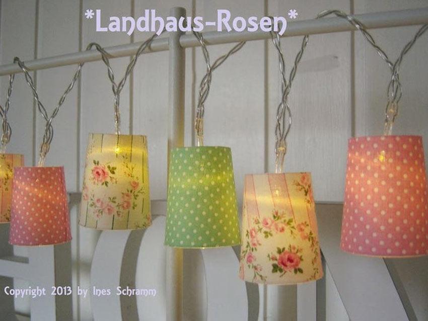 lampes originales maison de campagne