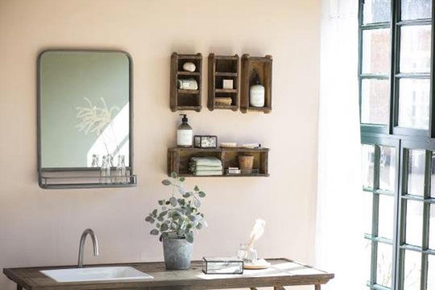 petits meubles vintage en bois