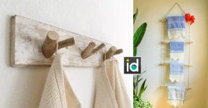 13 porte-serviettes créatifs pour une salle de bain design