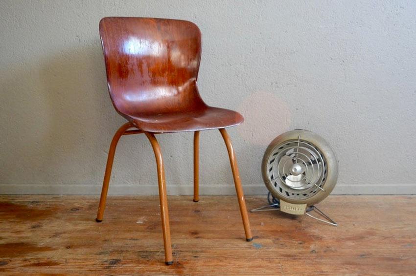 Chaise vintage decoration