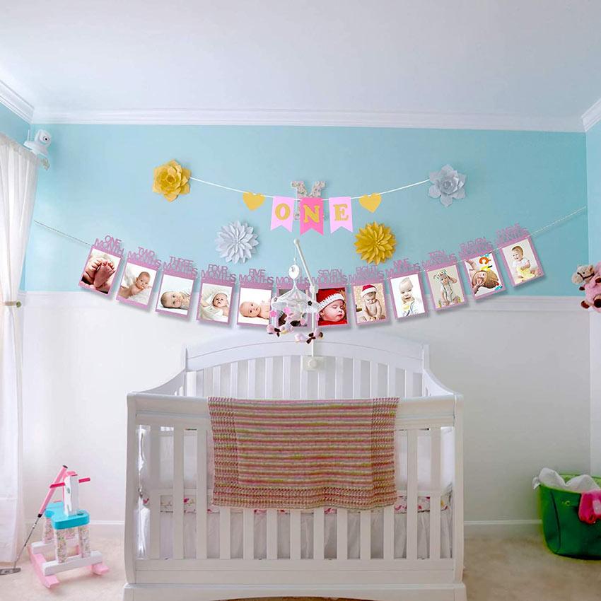 guirlande DIY chambre nouveau-né