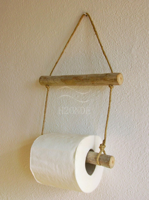 porte-rouleau papier toilette DIY
