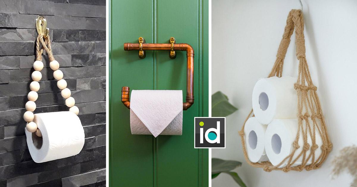 porte-rouleaux papier toilette DIY