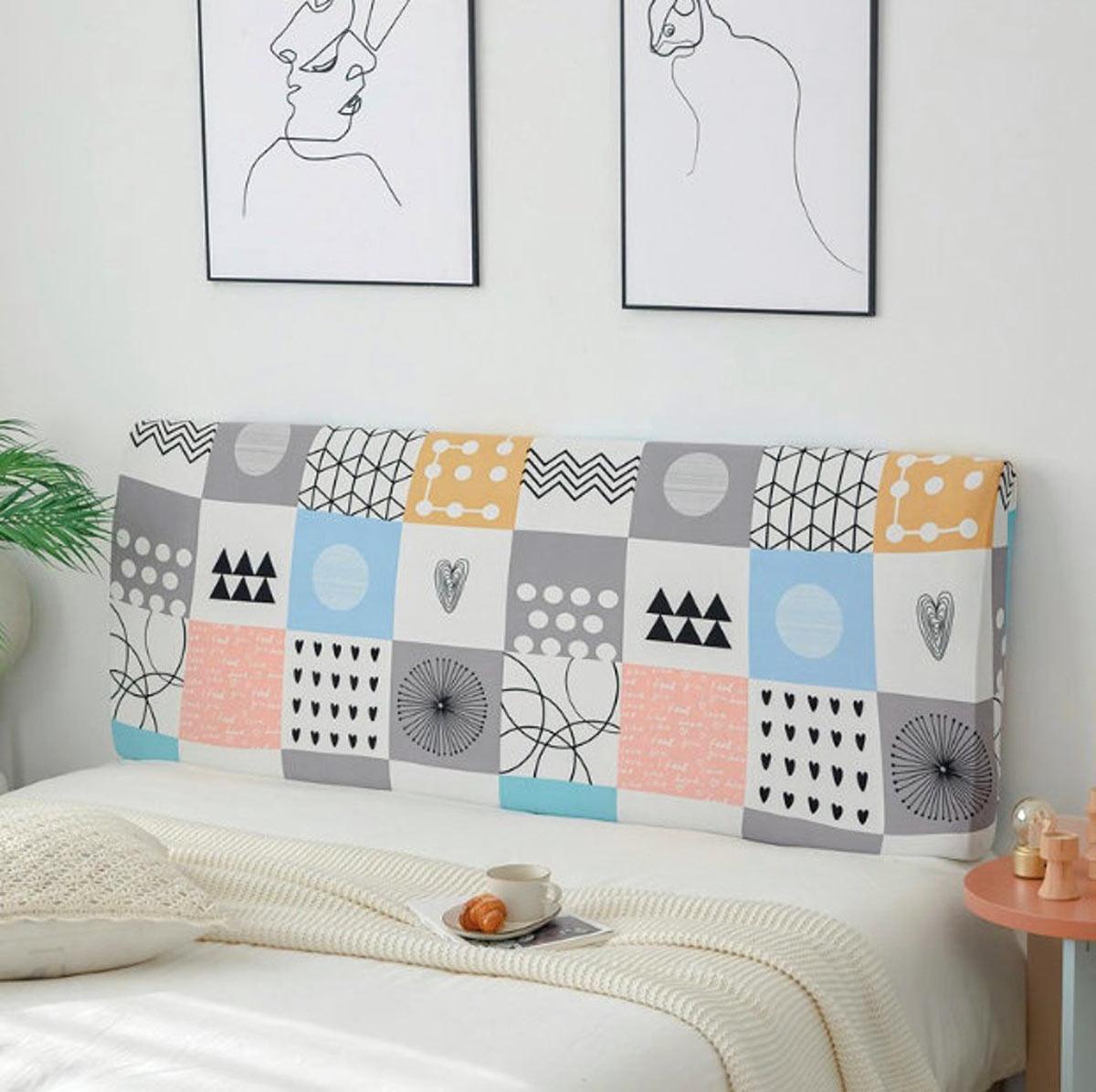 têtes de lit en tissus