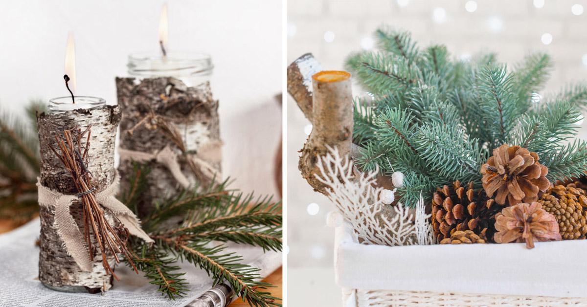décorations d'hiver DIY pour une maison sublime