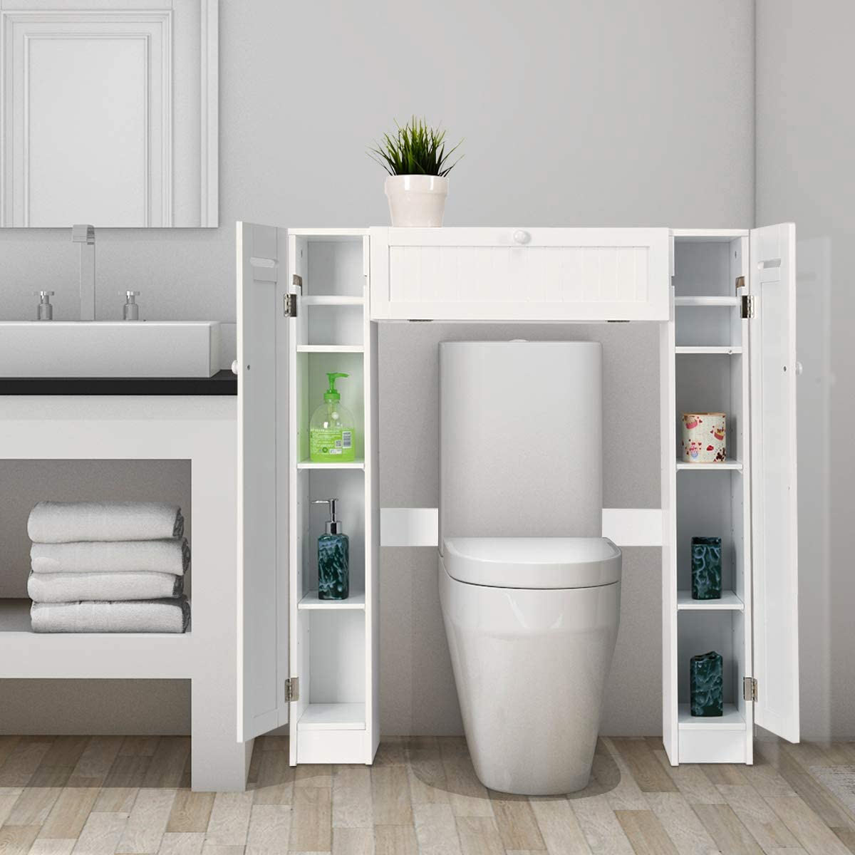 solutions pour aménager une petite salle de bain